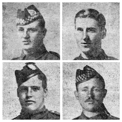 Some of Falkirk's heroes that we want to honour.